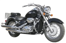 DEFENSA PARA  SUZUKY INTRUDER  800 VOLUSIA / M 800 / C 800, MARCA SPAAN