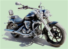 DEFENSA MARCA SPAAN PARA YAMAHA MIDNIGHT STAR XVS 950 A