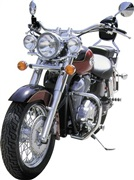 DEFENSA PARA HONDA SHADOW VT 750 C 2009 (Doble silenciador) / VT 750CS ABS / SHADOW AERO