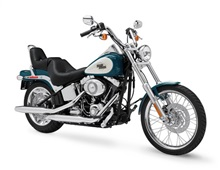 Protector de motor defensa para HARLEY SOFTAIL FAT BOY